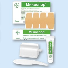 Мазь для наружного применения Микоспор набор