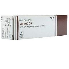 Крем для наружного применения 2% Микозон
