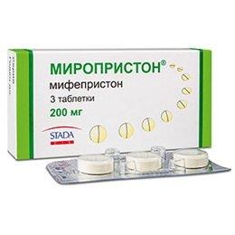 Таблетки Миропристон
