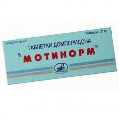 Таблетки Мотинорм