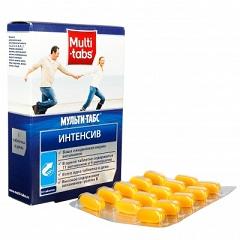 Таблетки, покрытые пленочной оболочкой, Мульти-табс Интенсив