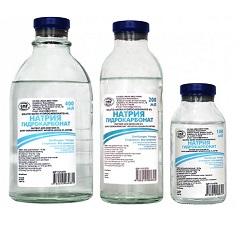 Раствор для инфузий Натрия гидрокарбонат