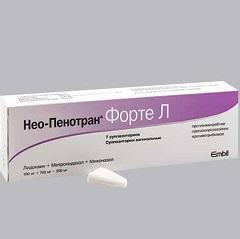 Суппозитории вагинальные Нео-Пенотран Форте Л