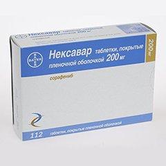 Таблетки Нексавар