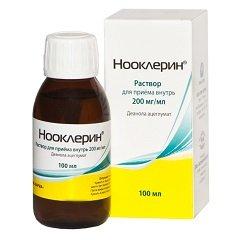 Раствор для приема внутрь 20% Нооклерин