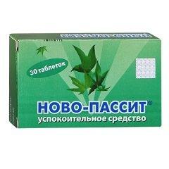 Таблетки, покрытые пленочной оболочкой, Ново-Пассит