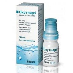 Раствор офтальмологический увлажняющий Окутиарз