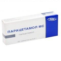 Таблетки Парацетамол МС