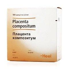 Раствор для внутримышечного введения Плацента композитум