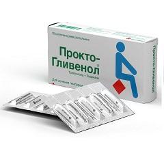 Суппозитории ректальные Прокто-Гливенол