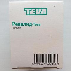 Капсулы Ревалид-Тева