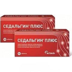 Таблетки Седальгин Плюс