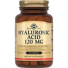 Таблетки Солгар Гиалуроновая кислота, 120 мг