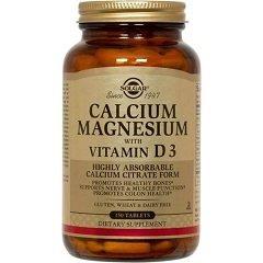Таблетки Солгар Кальций и магний с витамином D3
