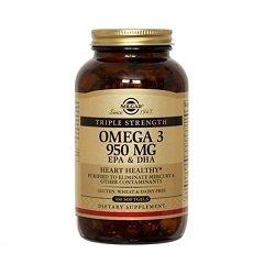 Солгар Тройная Омега-3 ЭПК/ДГК, 950 мг