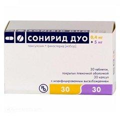 Набор таблеток и капсул Сонирид Дуо