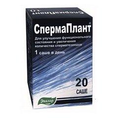 Порошок для приготовления раствора для приема внутрь СпермаПлант