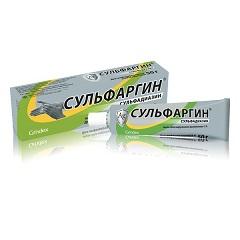 Мазь для наружного применения 1% Сульфаргин
