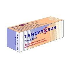 Таблетки пролонгированного действия Тамсулозин