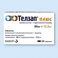 Таблетки Телзап Плюс