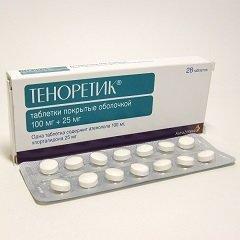 Таблетки, покрытые оболочкой, Теноретик