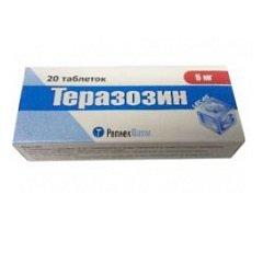 Таблетки Теразозин