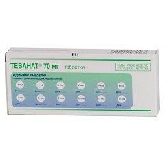 Таблетки Теванат