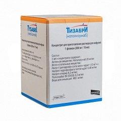 Концентрат для приготовления раствора для инфузий Тизабри
