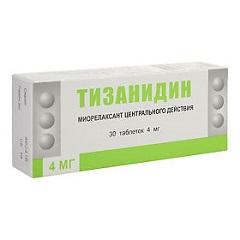 Таблетки Тизанидин