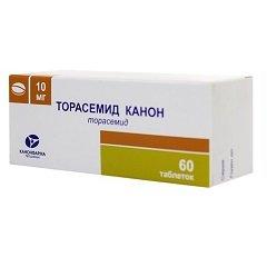 Таблетки Торасемид Канон