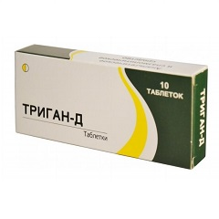 Таблетки Триган-Д