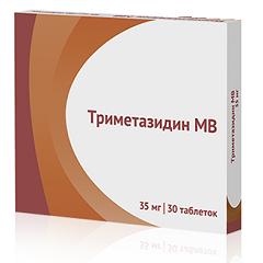 Таблетки Триметазидин МВ