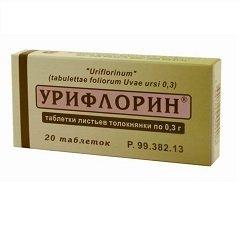 Таблетки Урифлорин
