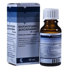 Капли для приема внутрь Валокордин-Доксиламин