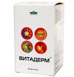 Таблетки ВитаДерм