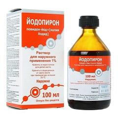 Раствор для наружного применения Йодопирон
