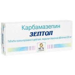 Таблетки пролонгированного действия, покрытые пленочной оболочкой, Зептол