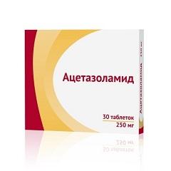 Таблетки Ацетазоламид