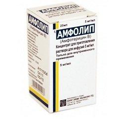 Концентрат для приготовления раствора для инфузий Амфолип