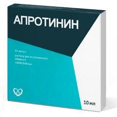 Раствор для в/в введения Апротинин