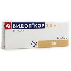 Таблетки Бидоп Кор
