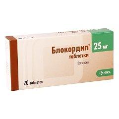 Таблетки Блокордил