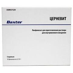 Лиофилизат для приготовления раствора для внутривенного введения Церневит