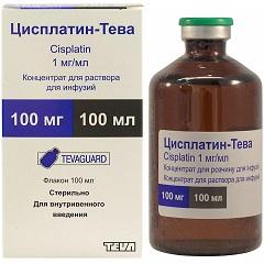 Концентрат для раствора для инфузий Цисплатин-Тева