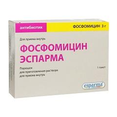Порошок для приготовления раствора для приема внутрь Фосфомицин Эспарма