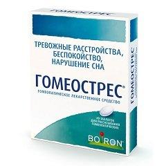 Таблетки для рассасывания гомеопатические Гомеострес
