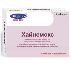 Таблетки, покрытые пленочной оболочкой, Хайнемокс