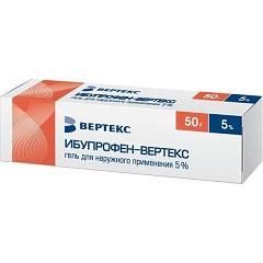 Гель для наружного применения 5% Ибупрофен-ВЕРТЕКС