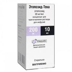 Концентрат для приготовления раствора для инфузий Этопозид-Тева