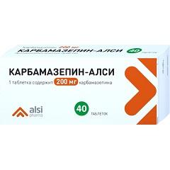 Таблетки Карбамазепин-АЛСИ